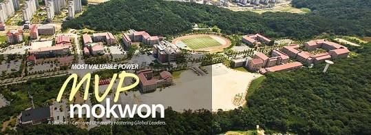 Toàn cảnh đại học Mokwon
